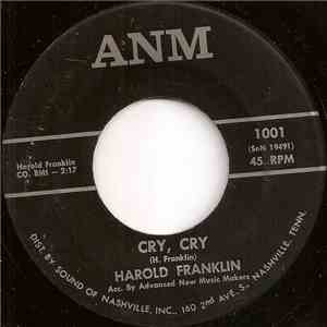 Harold Franklin - Cry, Cry