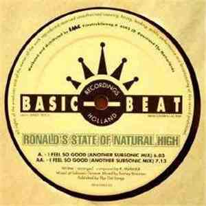 Ronald's State Of Natural High - I Feel So Good
