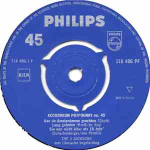 The 3 Jacksons - Accordeon Potpourri No. 45