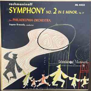 Rachmaninoff : Eugene Ormandy Conducting The Philadelphia Orchestra - Symph ...