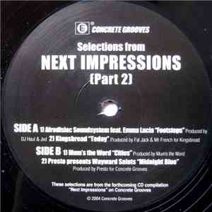 Various - Selections From Next Impressions (Part 2)