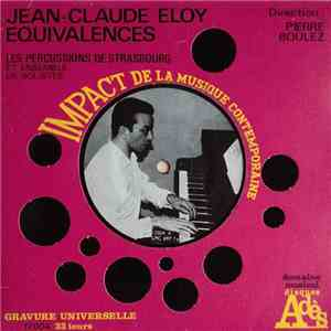 Jean-Claude Eloy - Equivalences