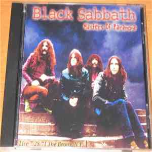 Black Sabbath - Masters Of Paranoia